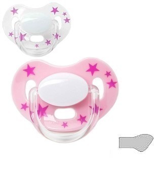 "SPECIAL EDITION, 2-pack ""Stars Rosa/Rosa Transparent"""